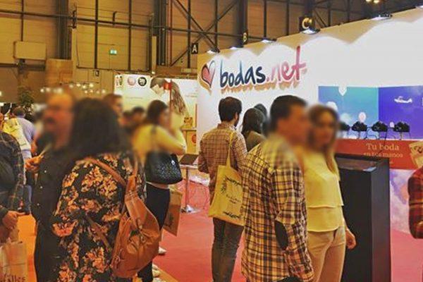 Stand Bodas.net. IFEMA