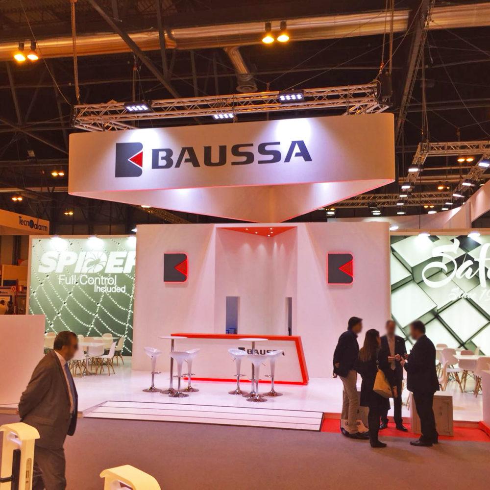 Stand diseño Baussa en Sicur 2018