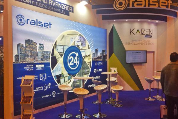 Stand diseño Ralset en Sicur 2018