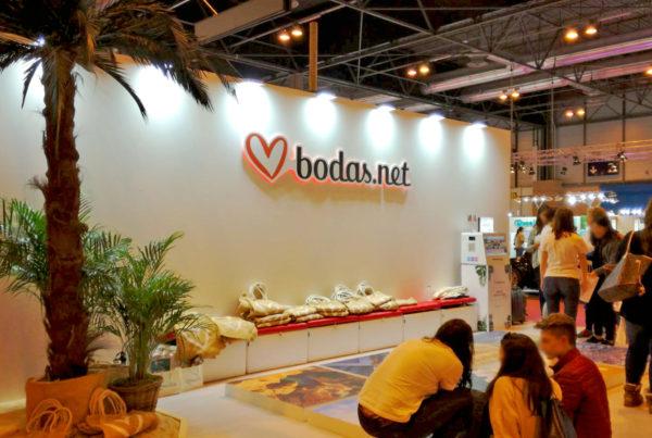 Stand bodas.net en 1001 Bodas en Ifema