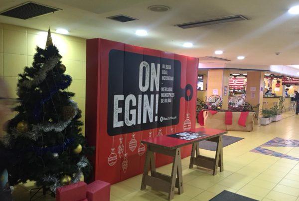 Campaña On Egin mercados municipales de Bilbao