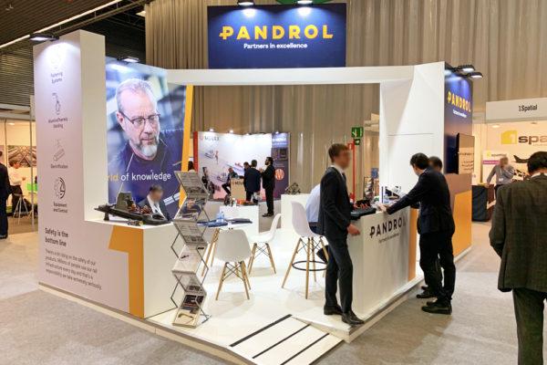 Stand de diseño Pandrol. Rail Live 2019. BEC